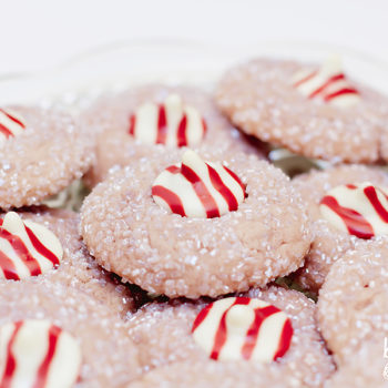 Raspberry Blossom Cookies