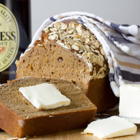 Dark Molasses Irish Beer Bread - deliciously simple thanks to one bowl mixing and no rise time-2
