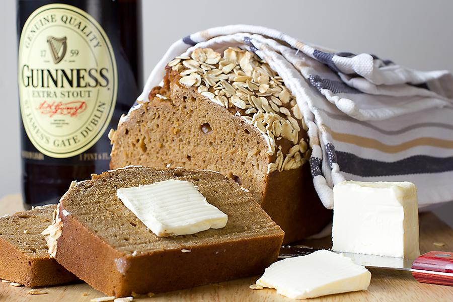 Guinness Irish Beer Bread Bake Love Give