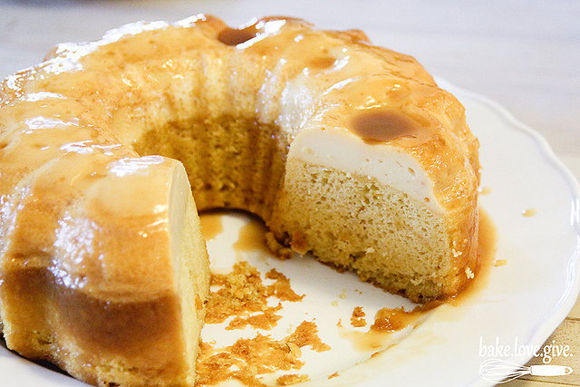 Flan Cake With Yellow Cake Mix