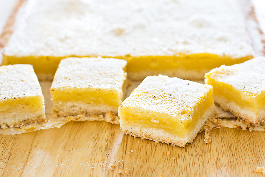 Lemon Squares | Bake Love Give