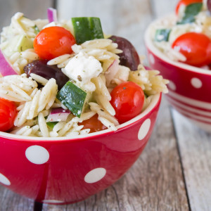 Good Seasons Greek Orzo Salad-4