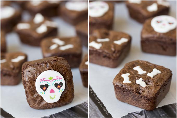 Dia de los Muertos Brownies