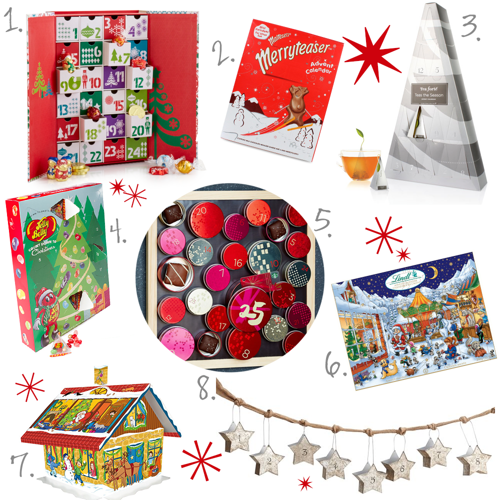 2014 gourmet advent calendars bake love give