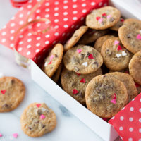 Itty Bitty Valentine Chocolate Chip Cookies-1