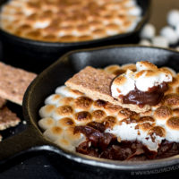 Skillet S'mores Pudding Dip-106