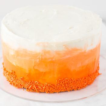 Ombre Red Velvet Cake-1