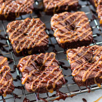 Salted Caramel Rolo Brownies-2