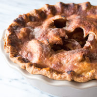 Old Fashioned Apple Pie for Pi Day 3.14.15