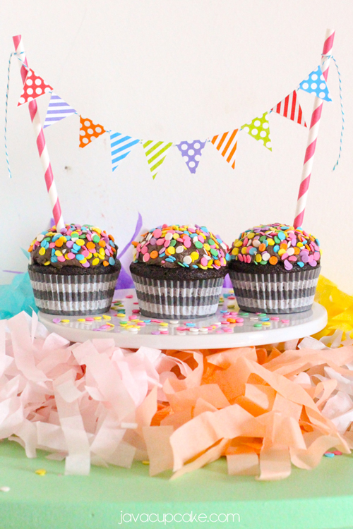 Drunkin Chocolate Cupcakes - plus 6 delicious sweets for a virtual birthday party