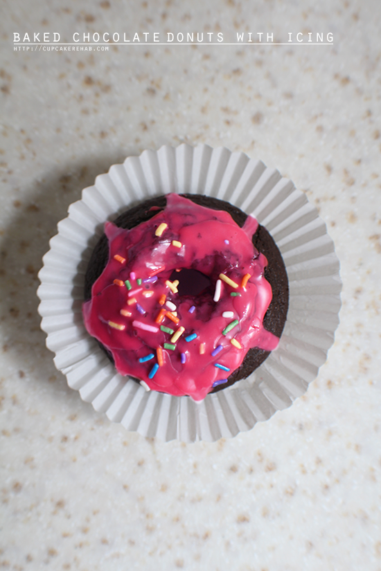 Huge 'N' Soft Baked Chocolate Donuts - plus 6 delicious sweets for a virtual birthday party