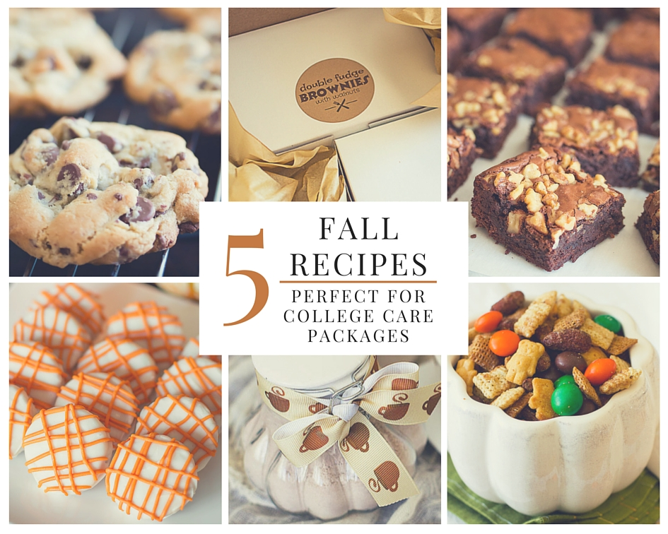 5 Fall Recipes Perfect for College Care Packages + Tips for Shipping Baked Goods