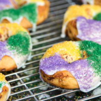 Mini Cinnamon Roll King Cakes