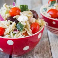 Good Seasons Greek Orzo Salad-4