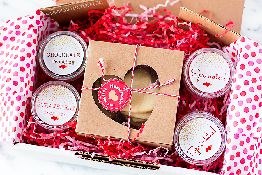 Decorate Your Own Valentine Cookie Kits Bake Love Give